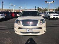 Options:  2012 Gmc Acadia Denali|Load Your Family Into
