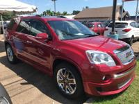 This handsome 2012 GMC Acadia is the SUV that you have
