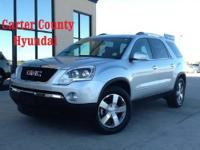 THIS BEAUTIFUL 2012 GMC ACADIA SLT SUV LITERALLY JUST