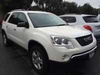 Options:  2012 Gmc Acadia Sl|White|Just Arrived!! Super