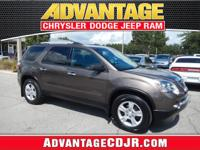 This 2012 GMC Acadia has a Clean CarFax and is ready to