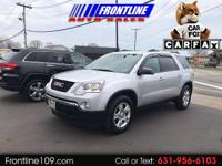 New Price! 2012 GMC Acadia SLE chrome metallic CARFAX
