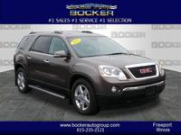 Get ready to go for a ride in this 2012 GMC Acadia