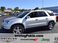 This is a 2012 GMC Acadia SLT all wheel drive with only