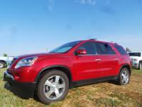 Options:  2012 Gmc Acadia Slt1|Maroon|47|625