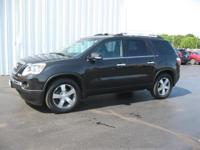2012 GMC Acadia Gets Great Gas Mileage: 23 MPG Hwy!!