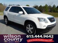 2012 GMC Acadia SLT-1 3.6L V6 SIDI chrome metallic