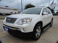 We are excited to offer this 2012 GMC Acadia. Your