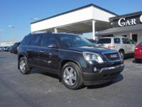 Options:  2012 Gmc Acadia Slt-1|Slt-1 4Dr Suv|2 Years