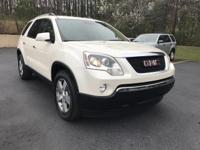 Options:  2012 Gmc Acadia Fwd 4Dr Slt1|This 2012 Gmc