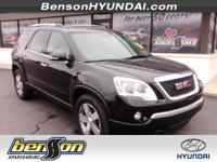 PANORAMIC ROOF and LEATHER. Acadia SLT-1 and 4D Sport