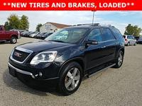 Options:  2012 Gmc Acadia Slt-2|Black|Just Reduced!