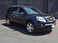 This 2012 GMC Acadia 4dr AWD 4dr SLT2 features a 3.6L