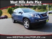 ACADIA SLT 4D SUV AWD  Options:  Parking Sensors