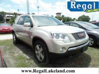 Gold Mist Metallic 2012 GMC Acadia SLT-2 FWD 6-Speed