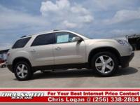 This is one Sharp GMC Acadia SLT !! This Acadia was GM
