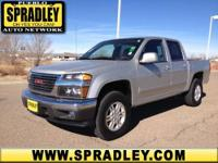 2012 GMC Canyon Crew Cab Pickup - Short Bed SLE1 Our