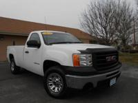 2012 GMC SIERRA REGULAR CAB LONG BOX! V8! POWER LOCKS,