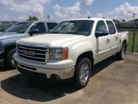 White Diamond 2012 GMC Sierra 1500 SLE 4WD 6-Speed