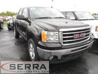 2012 GMC SIERRA 4X4 CREW SLE, GM CERTIFIED, ONE OWNER,