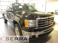 2012 GMC SIERRA EXTENDED CAB 4X4 SLE, GM CERTIFIED,