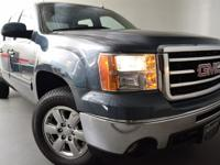CARFAX 1-Owner, GMC Certified. SLT trim. Heated Leather