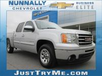 Clean CARFAX. Quicksilver Metallic 2012 GMC Sierra 1500