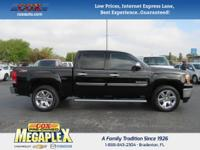 This 2012 GMC Sierra 1500 SLE in Black is well equipped