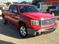 Fire Red 2012 GMC Sierra 1500 SLE RWD 6-Speed Automatic