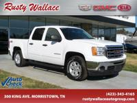 Summit White 2012 GMC Sierra 1500 SLE 4WD 6-Speed