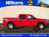 Options:  2012 Gmc Sierra 1500 Sle|Red|Xm Radio And Aux