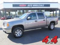 From work to weekends, this Gray 2012 GMC Sierra 1500