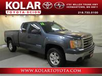 Blue 2012 GMC Sierra 1500 SLE 4WD 6-Speed Automatic