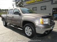 Feel right at home behind the wheel of this GMC SIERRA