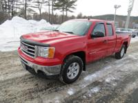 Exterior Color: fire red, Body: Extended Cab Pickup,