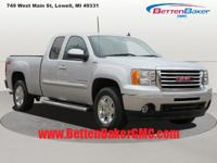 Options:  2012 Gmc Sierra 1500 4Wd Ext Cab 143.5