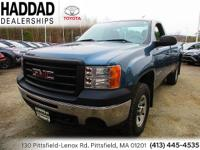 GMC Sierra 1500 Blue Work Truck 2012 CARFAX One-Owner.