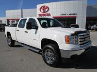 Recent Arrival! 2012 GMC Sierra 2500HD Work Truck 6.0L