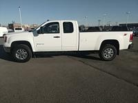 White 2012 GMC Sierra 3500HD SLE 4WD Allison 1000