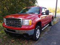 Exterior Color: fire red, Body: 4x4 SLE 4dr Extended