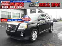 CARFAX One-Owner. Black 2012 GMC Terrain SLE-1 FWD