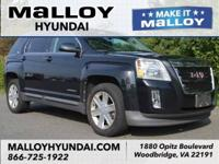 Carbon Black Metallic 2012 GMC Terrain SLE-2 AWD
