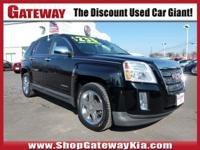 Recent Arrival! AWD. Clean CARFAX.Onyx Black 2012 GMC