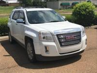 Options:  2012 Gmc Terrain Slt-2|White/|V6 3.0