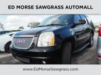 CARFAX 1-Owner. Denali trim. DVD, Heated Leather Seats,