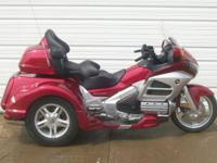 2012 Goldwing Monarch 11 Trike, trike kit was