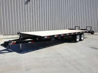 2012 H&H 20+5 TRAILER 10K GVWR LIKE NEW! BUMPER HITCH