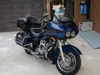2012 Harley Road Glide Ultra Loaded with Extras and