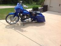 2012 Custom Street Glide with lots of extras.  All