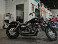 New for 2012 the Harley Dyna Wide Glide features a